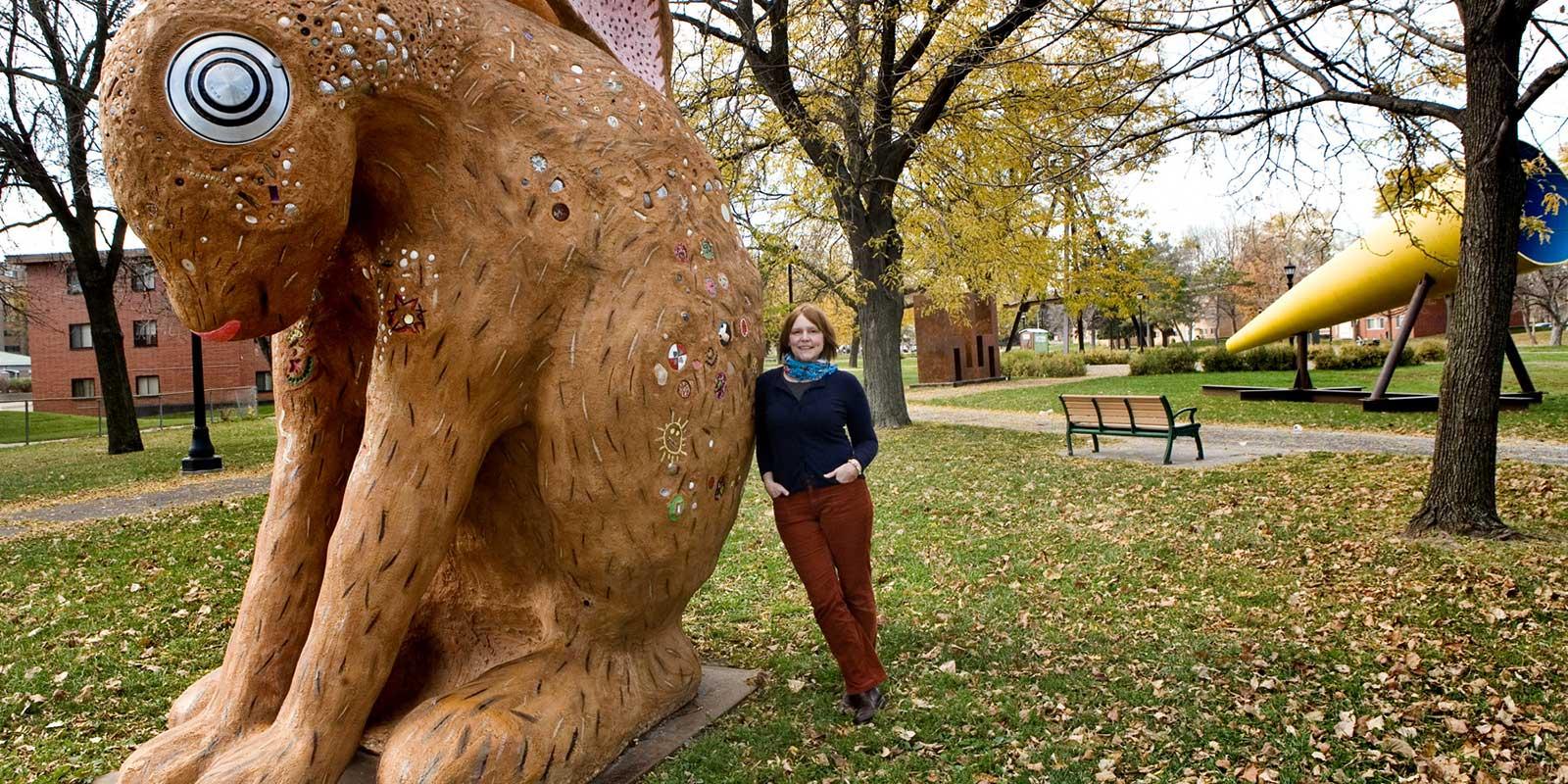 Mary johnson public art saint paul